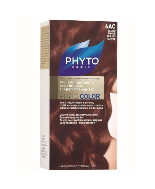 Phytocolor 6AC - Bakır Koyu Sarı