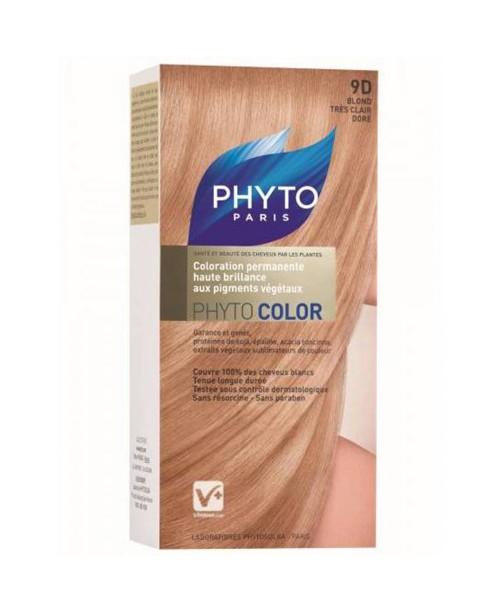 Phytocolor 9D - Acık Sarı Dore